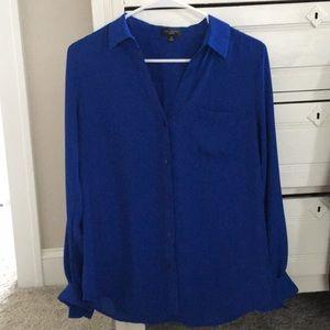 Limited Ashton cobalt blue blouse